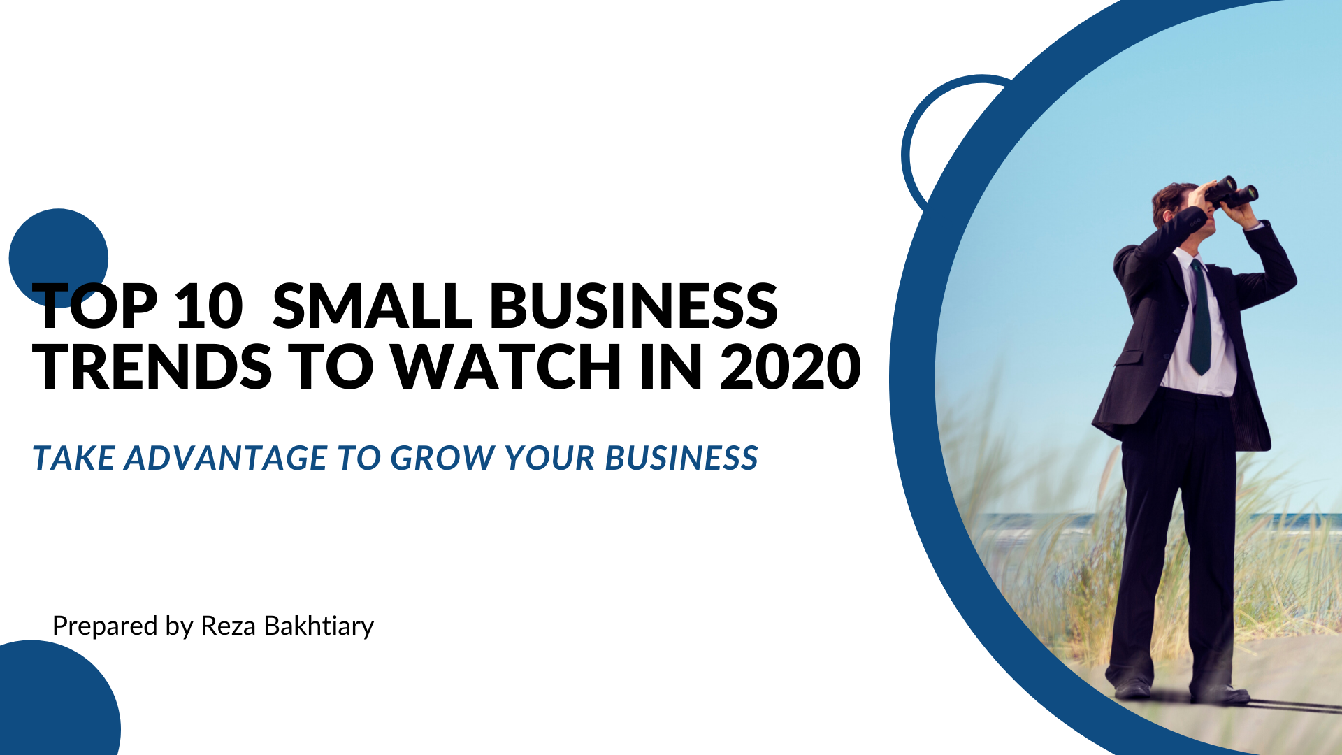 Top 10 Small Business Trends to Watch in 2020
