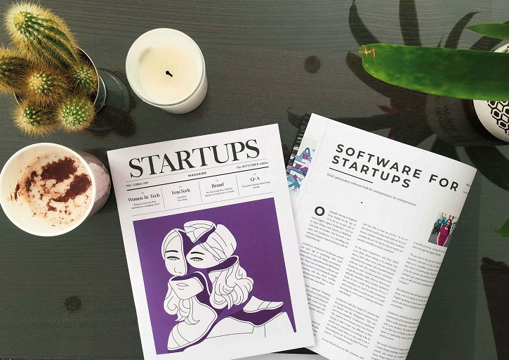 Agnes Gradzewicz Featured in The Start-ups Magazine