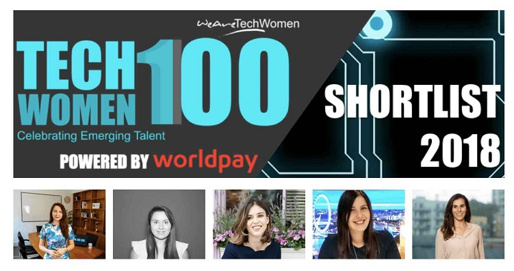 Agnes Gradzewicz Shortlisted for TechWomen100 Awards 2018