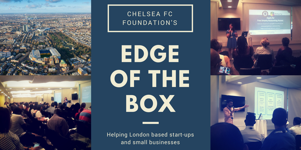 Chelsea FC Foundation hosts 'Edge Of The Box' event to support London's' start-ups scene