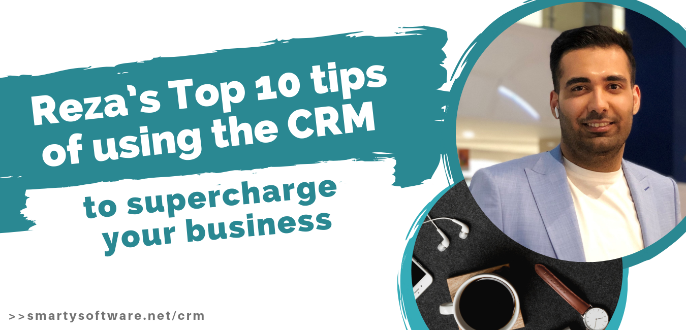 Reza Top 10 Tips of Using CRM Solution