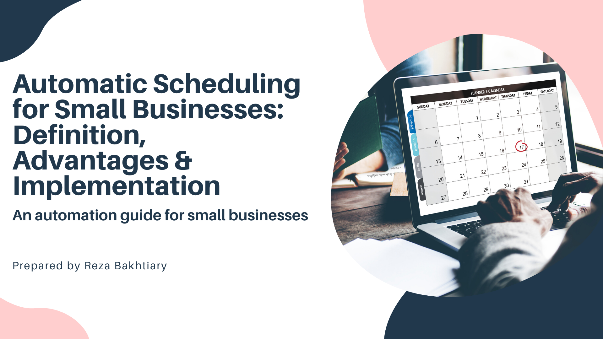 Automatic Scheduling  for Small Businesses: Definition,  Advantages & Implementation