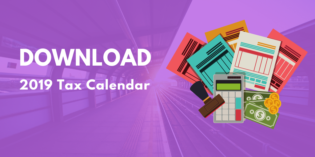 Effective Deadline Management for Accountancy Firms - Download Tax Calendar for 2019