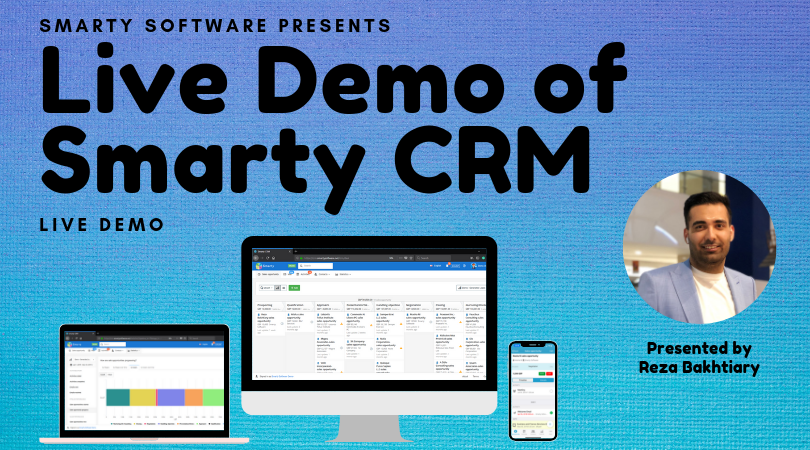 Demo of Smarty CRM - Live Webinar