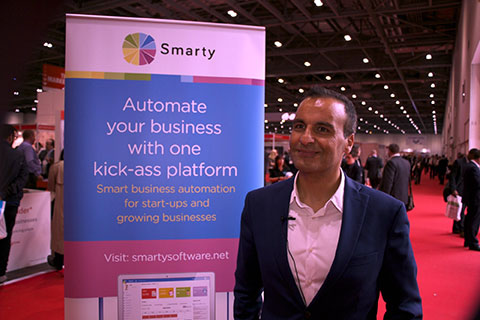 Smarty Software at the heart of innovation in the Great Business Show 2016