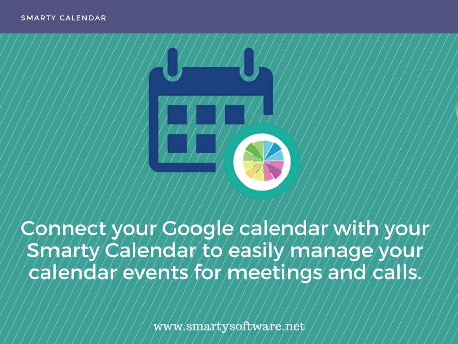 How does Smarty CRM integrate with Google Calendar?